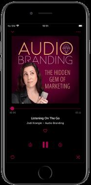 Jodi Krangle mobile audiobranding